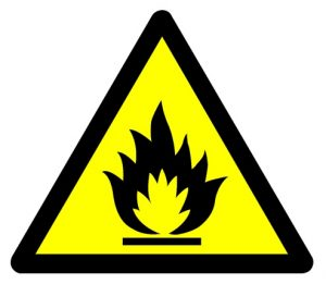 Flammable Signage Alcohol